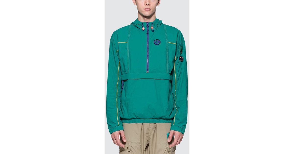 950464178e Lyst - adidas Originals Pharrell Williams X Adidas Human Race Hiking  Packable Windbreaker in Green for Men
