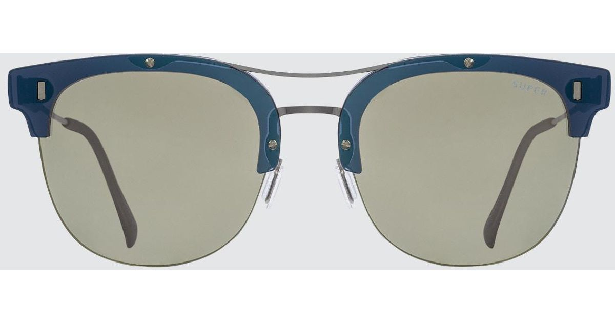 Strada Ivory sunglasses - Blue Retro Superfuture 2ISo3