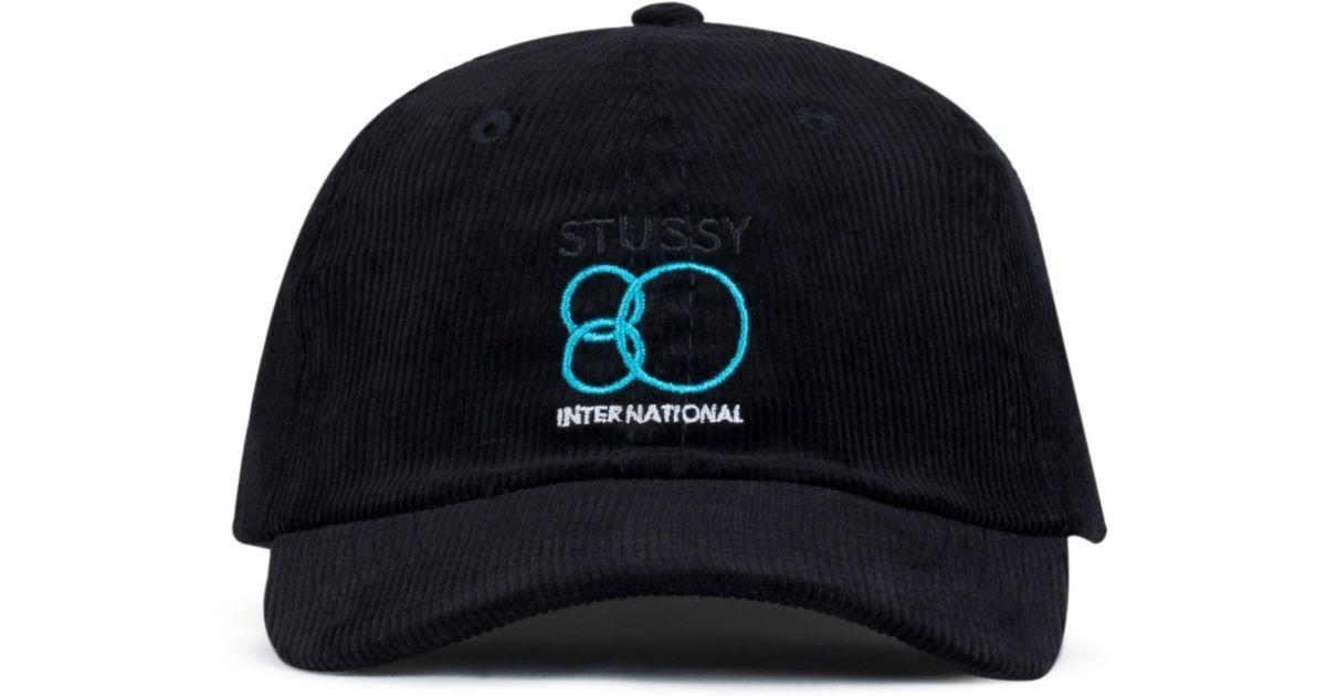 Lyst - Stussy 80 Intl. Cap in Blue for Men 6de83b6dd90