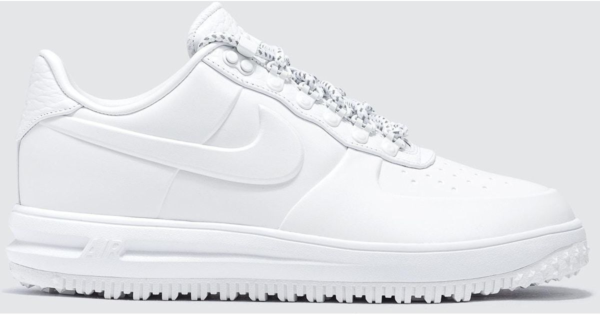 Lyst - Nike Lf1 Duckboot Low Prm in White 5311baee46