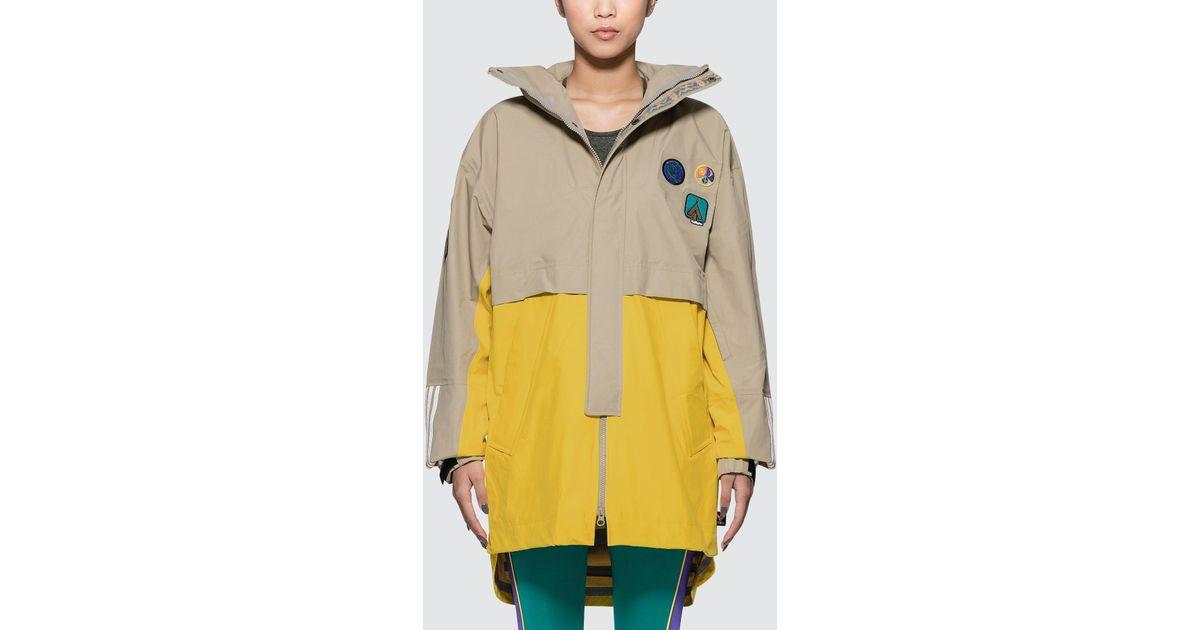 3b787b9e3bc7 Lyst - adidas Originals Pharrell Williams Hu Hiking 3-layer Jacket in  Natural