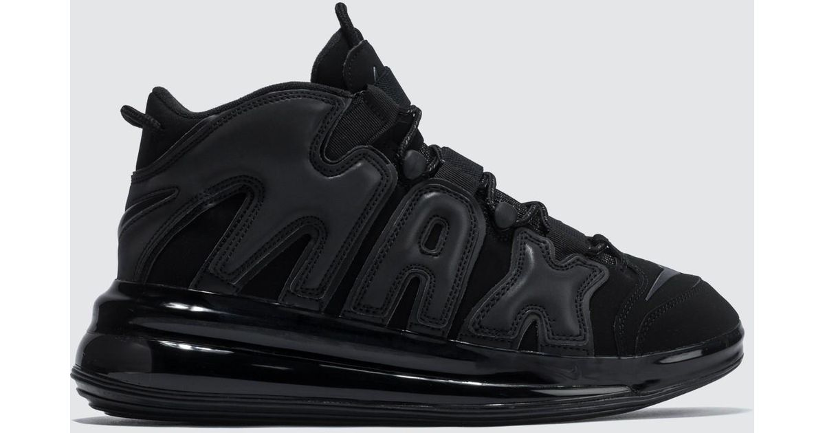 the latest c688b 6662c Lyst - Nike Air More Uptempo 720 Qs 1 in Black for Men