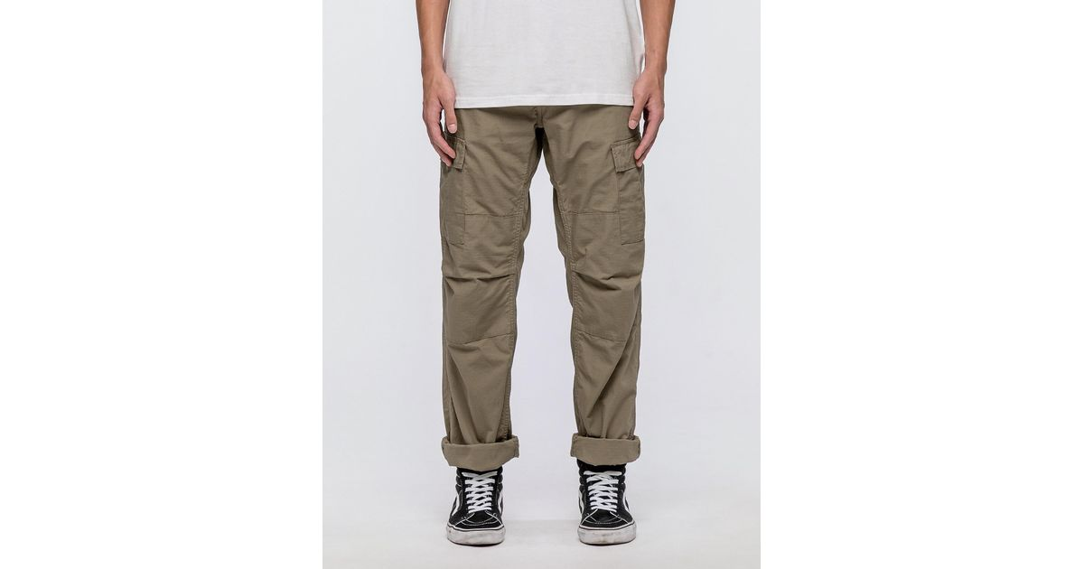 c7d517e7ab Carhartt WIP Aviation Pants for Men - Lyst