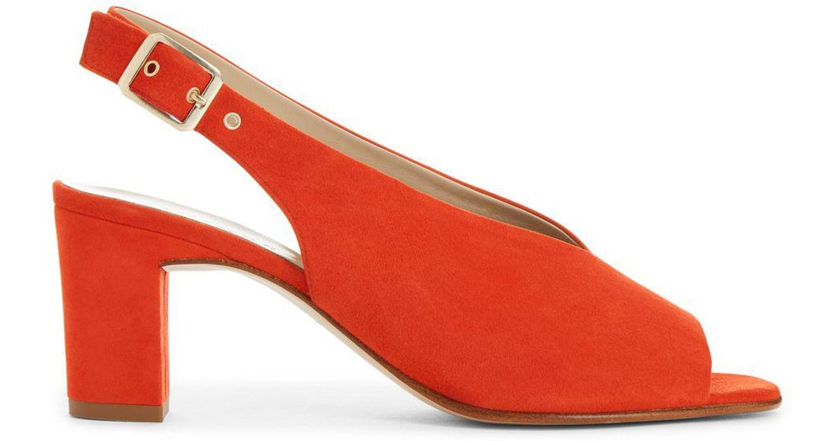 673c8ddaa90 Hobbs Red  kali  Sandals in Red - Lyst