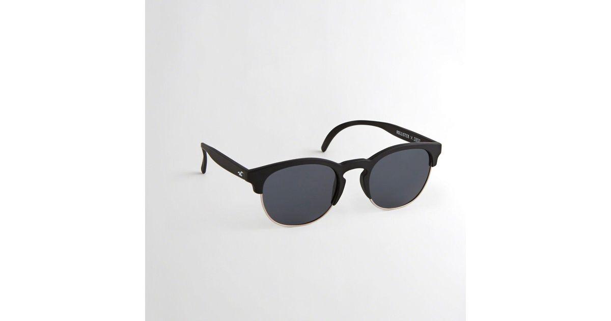 e077de97c53 Lyst - Hollister Guys X Sunski Beachbreak Sunglasses From Hollister in  Black for Men