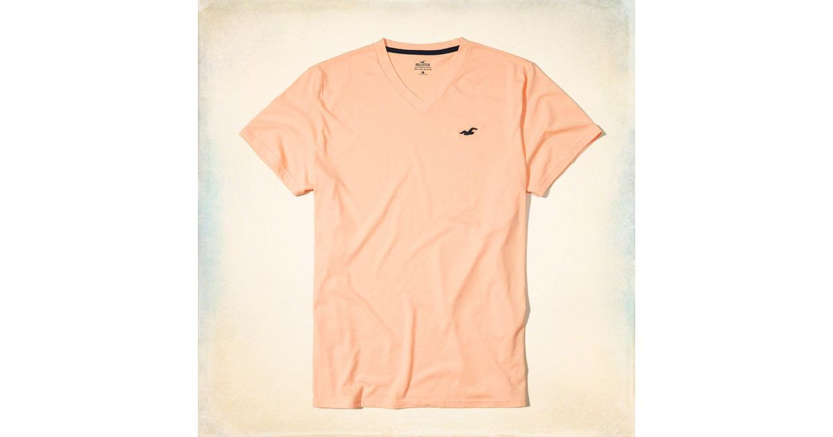 Lyst hollister must have v neck t shirt for men for Must have dress shirts