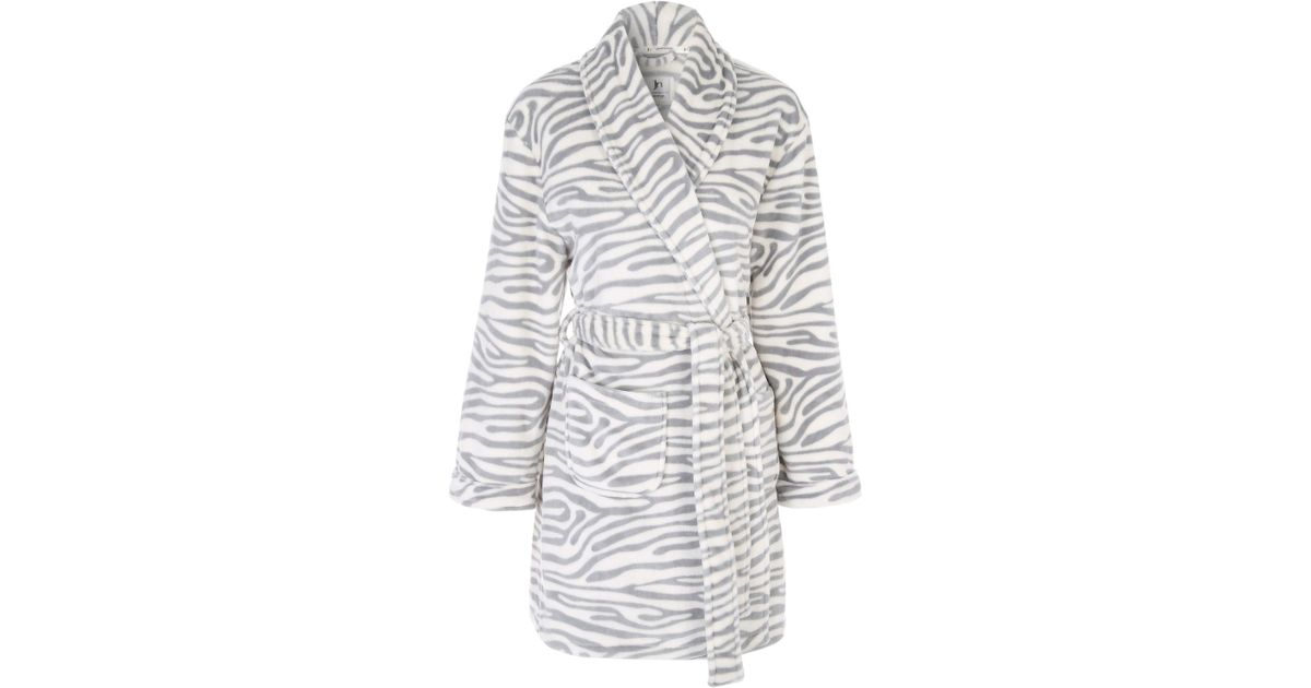 Zebra Dressing Gown - Home Decorating Ideas & Interior Design