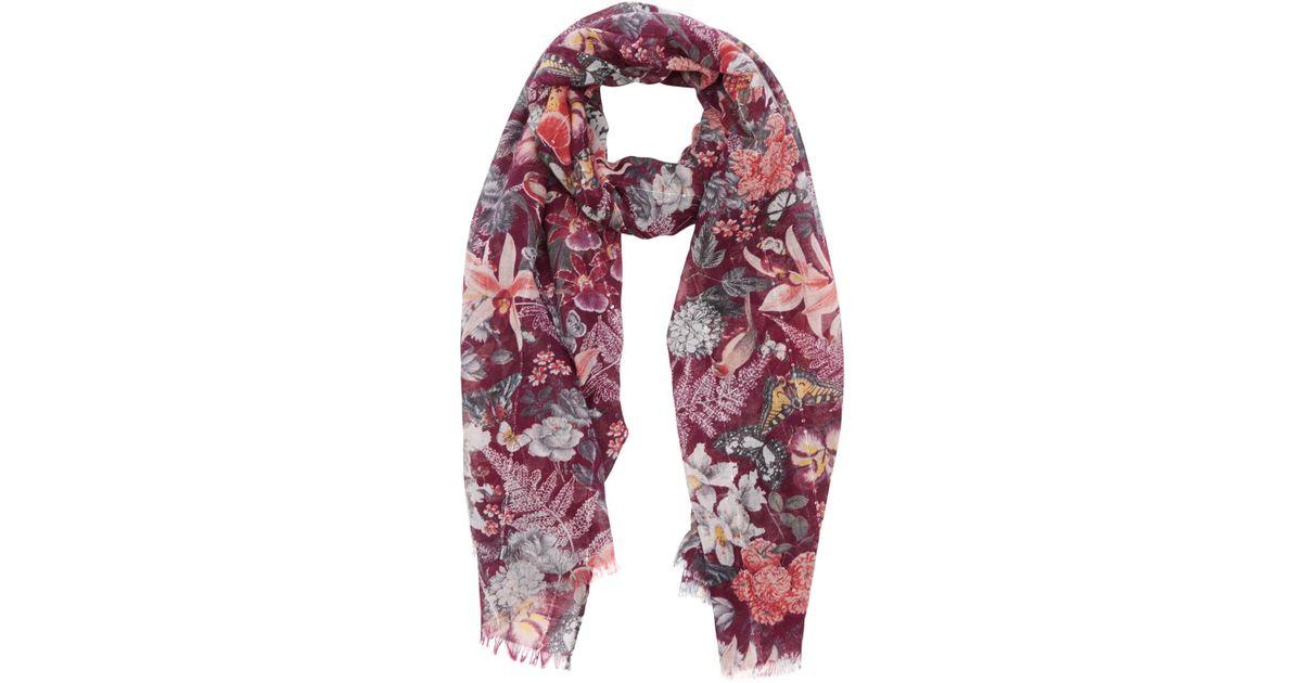 oasis botanical floral scarf lyst