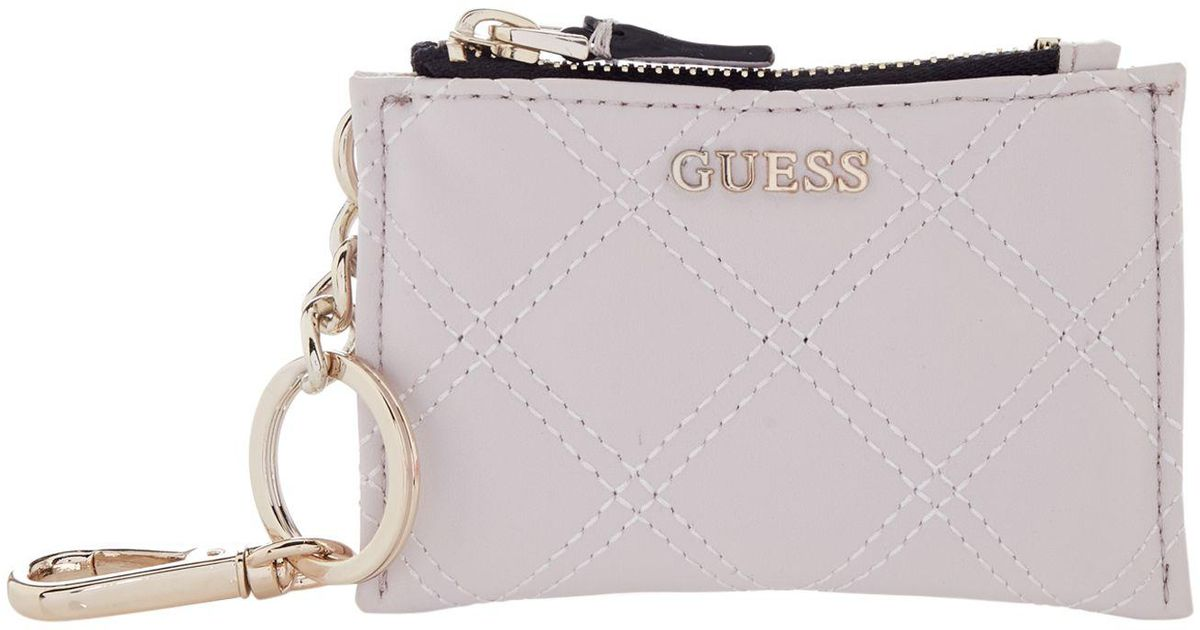 d31123ce15 Guess Darin Pouch Keychain - Lyst