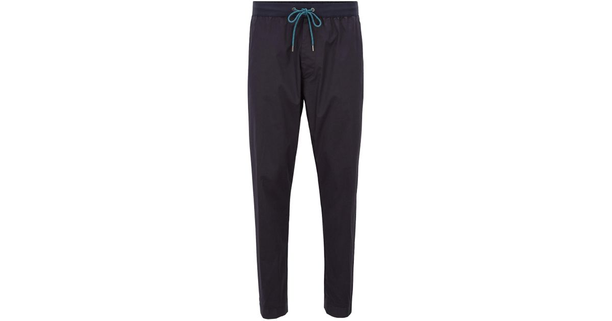 Relaxed-fit chino trousers in stretch cotton BOSS pcaGy1CuE1
