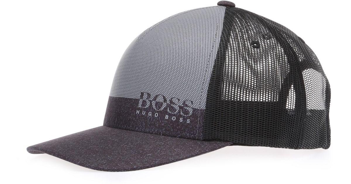 2d25b31eaa8 Lyst - BOSS Green  3d Print Cap