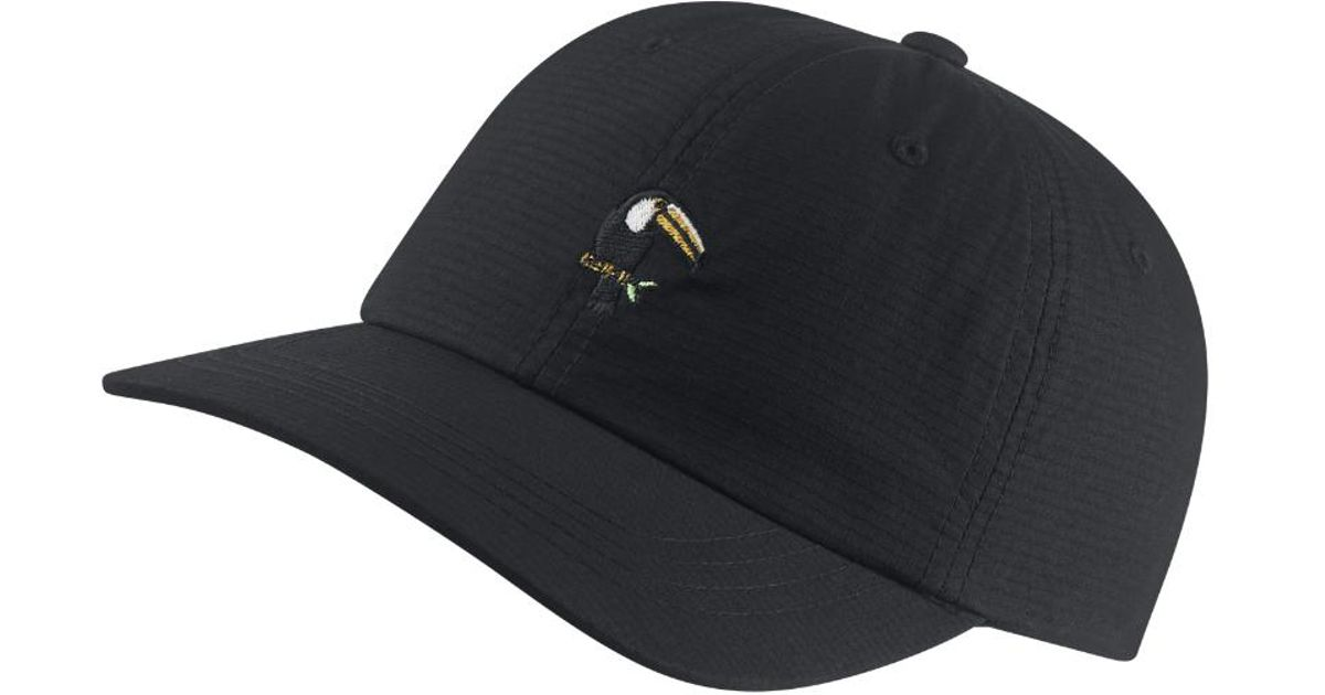 d6259cf4e24 ... usa lyst hurley toucan adjustable hat black clearance sale in black for  men 595e4 97888