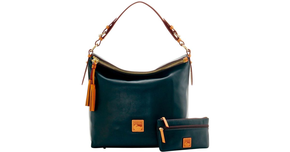 430434674c Lyst - Dooney   Bourke Wexford Leather Mckenzie Hobo in Black