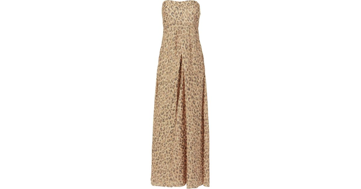 Lyst - Zimmermann Melody Leopard Dress 82fc1860f