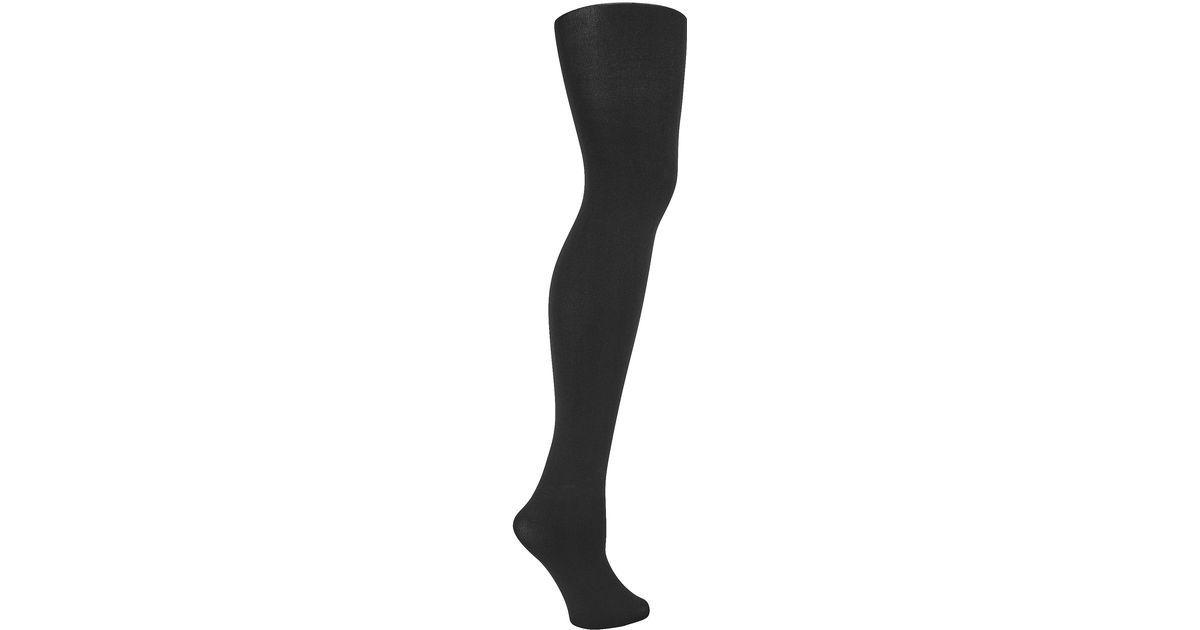 0fe8ed13490 Lyst - Wolford Matte Opaque Tights in Black