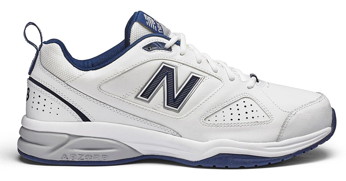 df59b8b8e New Balance Mx624 Trainers in White for Men - Lyst