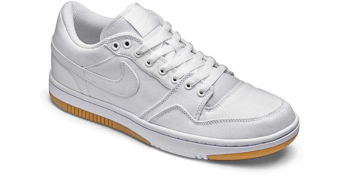 dca8846ab854 Nike Court Force Low Trainers in White for Men - Lyst