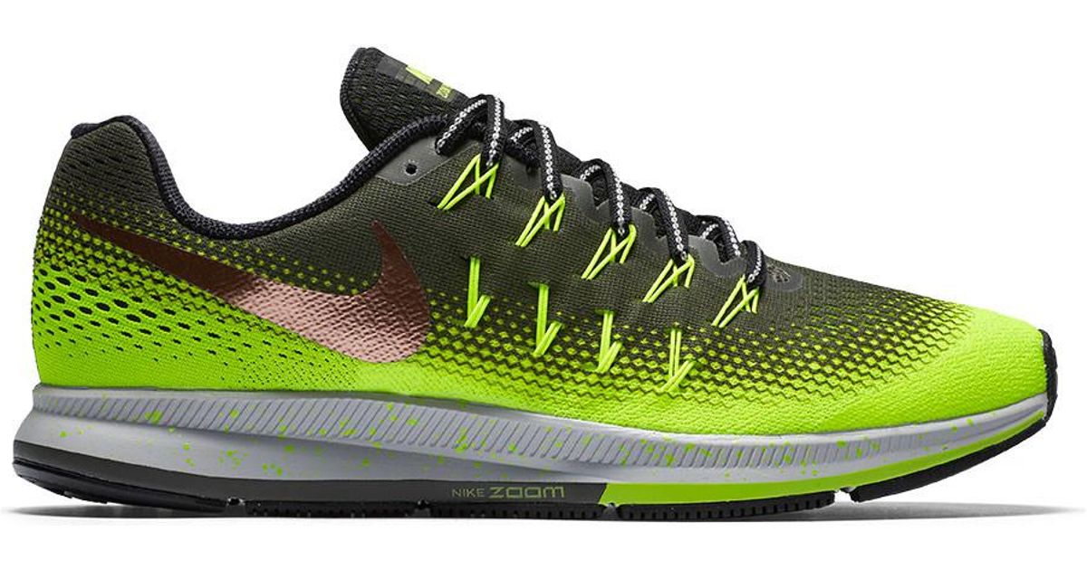 best website e1b30 8baa4 Nike - Multicolor Men's Air Zoom Pegasus 33 Shield Pack Running Shoe for  Men - Lyst