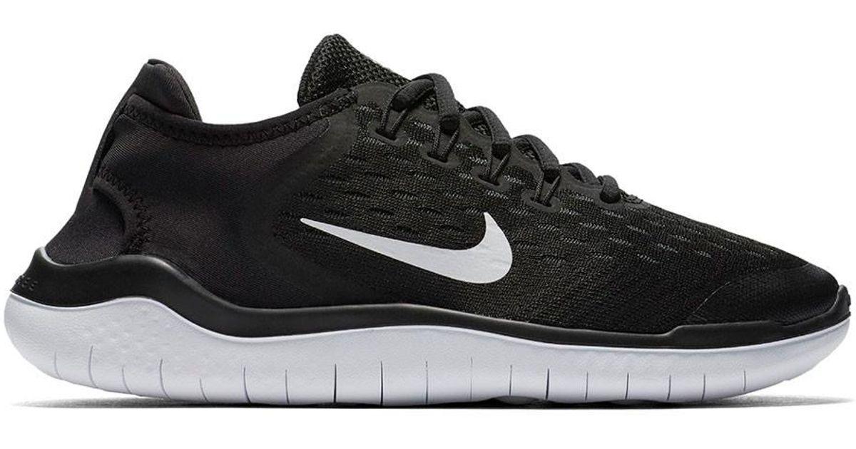 1df72d2708 Nike Kids Grade School Free Rn 2018 Shoes in Black for Men - Lyst