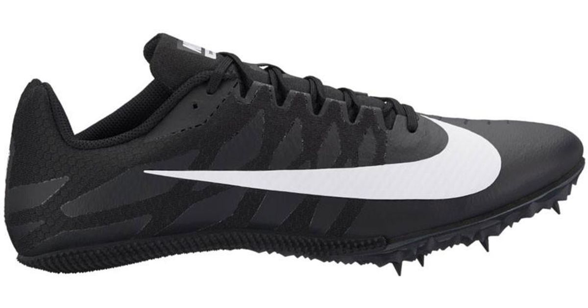 Lyst - Nike Men s Zoom Rival S 9 Track Spike in Black for Men 87d088acd
