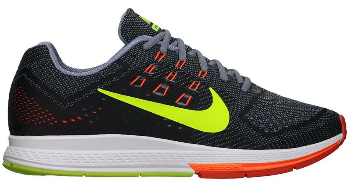 71bbc74ac97e Lyst - Nike Air Zoom Structure 18 Running Shoes in Gray for Men