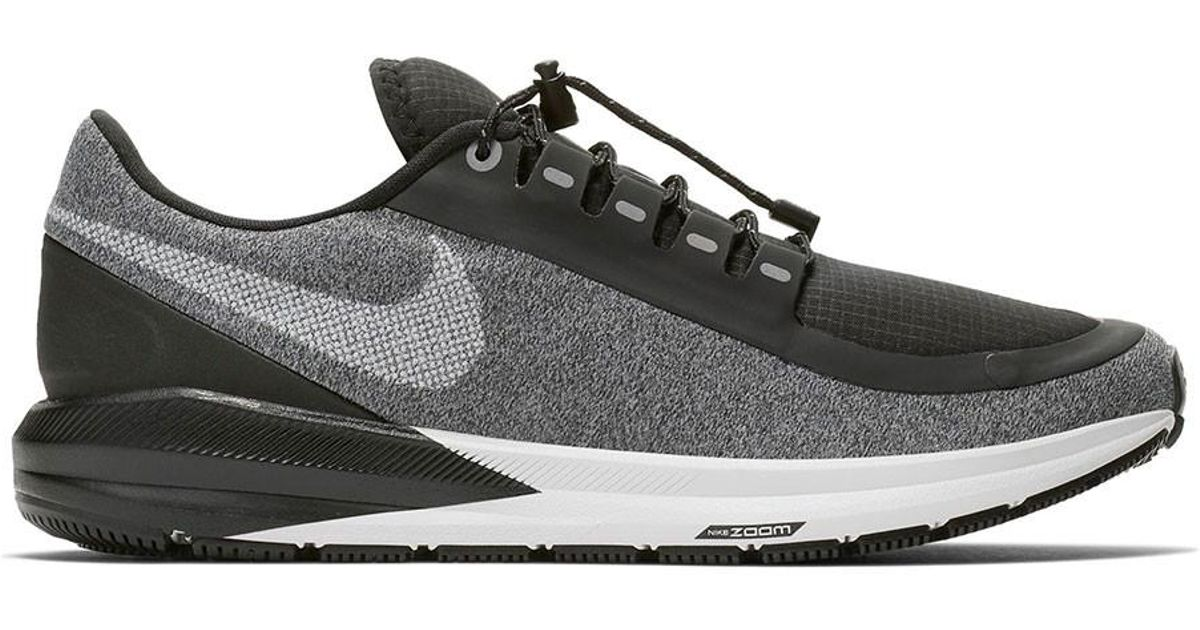 9c0ffab4041 Lyst - Nike Air Zoom Structure 22 Shield Running Shoe in Black for Men