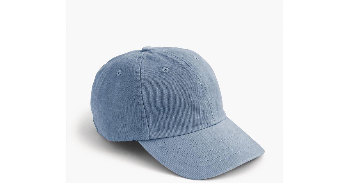 15181fa0190f7 Lyst - J.Crew Garment-dyed Ball Cap for Men