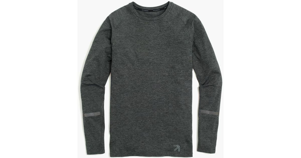 54316e92af965 Lyst - J.Crew New Balance Long-sleeve Compression Shirt in Gray for Men