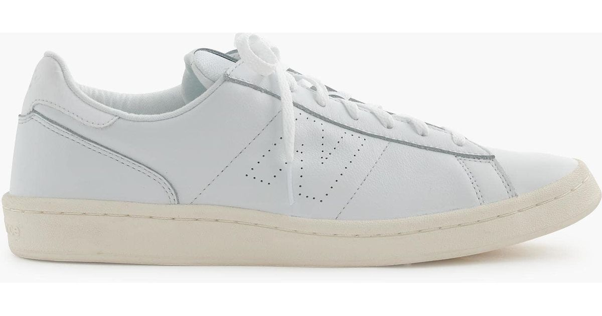 6145281999dada purchase shades of new balance jcrew 1400 dark royal . e35bf 6d448  germany new  balance 791 leather low top sneakers in white for men lyst f2994 92470