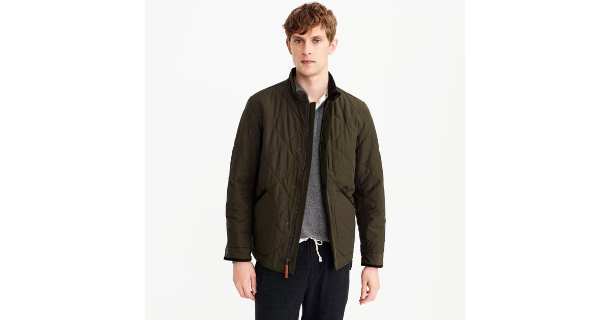 06c9f1ca0902 Lyst - J.Crew Sussex Quilted Jacket for Men