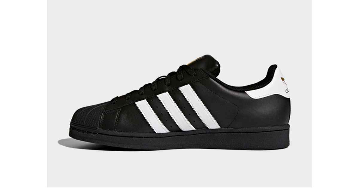 For Men Adidas Lyst Black Shoes Superstar Foundation Nw80nZOXPk