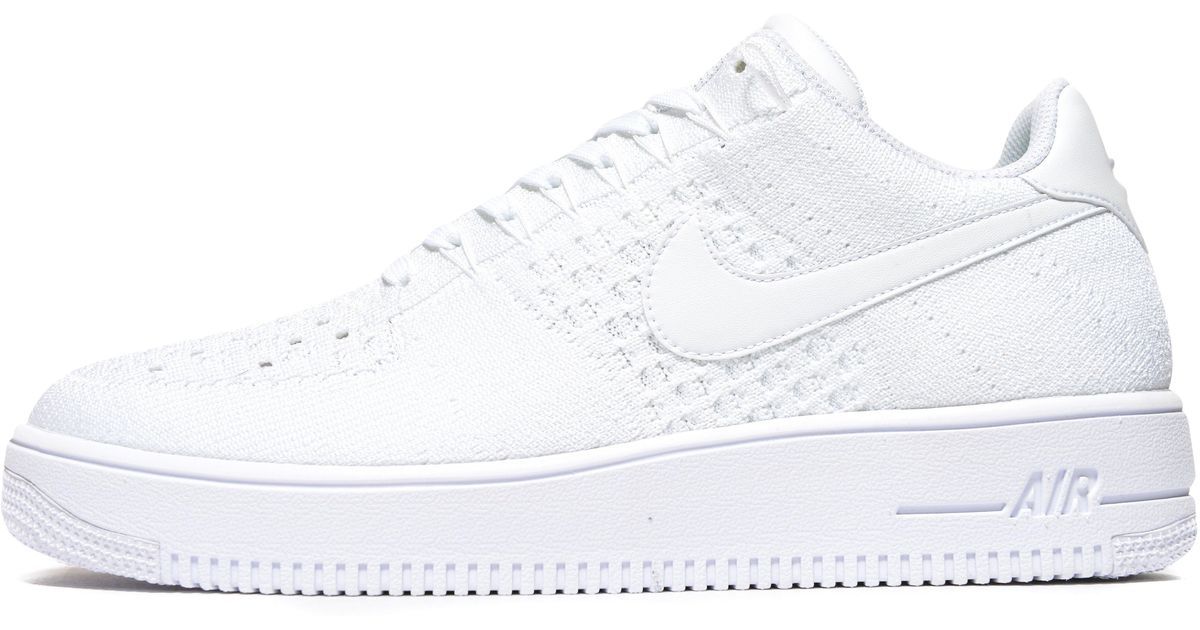 official photos c7195 a9ace Nike - White Air Force 1 Ultra Flyknit Low - Lyst