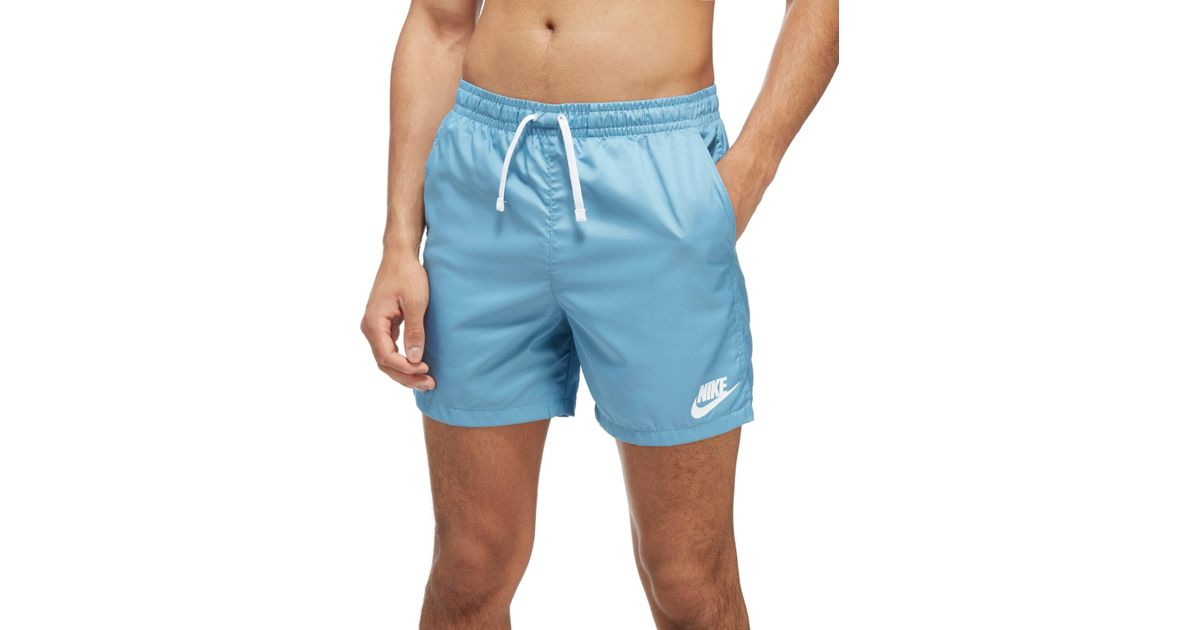 9b408ae0b5 Nike Flow Swim Shorts in Blue for Men - Lyst