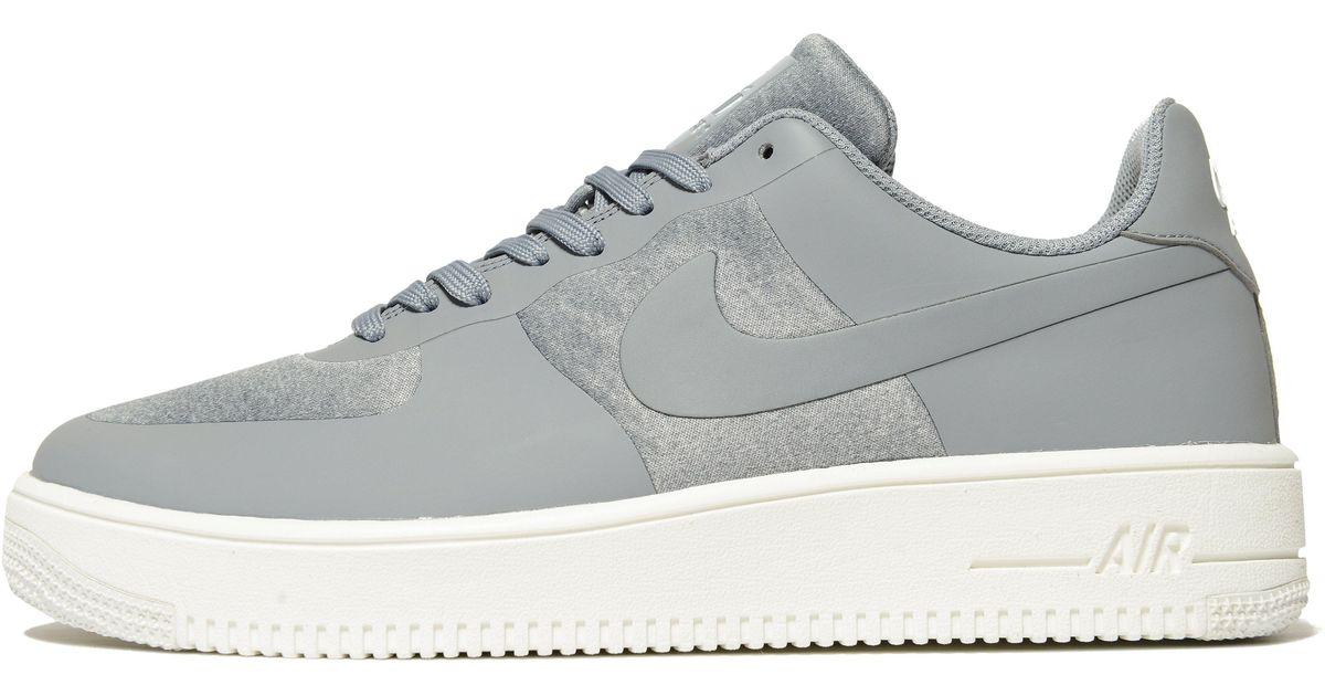 Lyst - Nike Air Force 1 Ultraforce in Gray for Men e3bd15b31