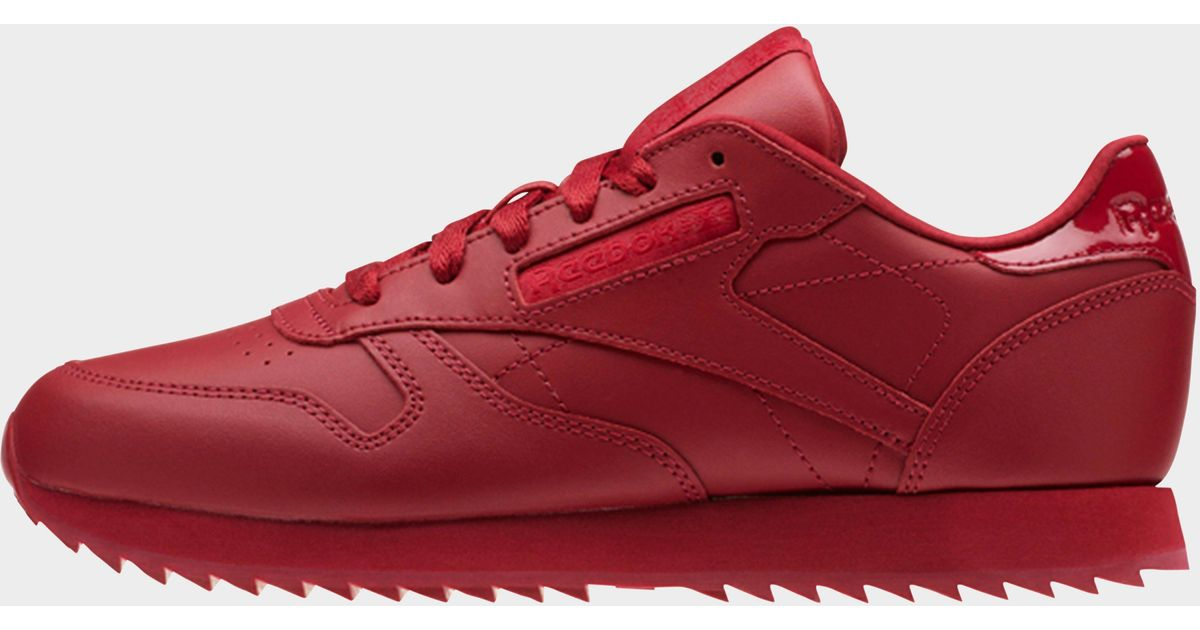 44d2e34dbd563 Reebok Classic Leather in Red - Lyst