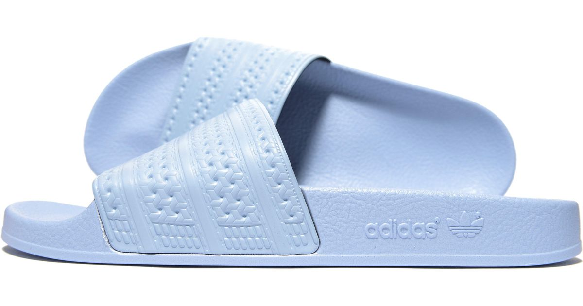 dec6b6dca9f0 Lyst - adidas Originals Adilette Slides in Blue for Men