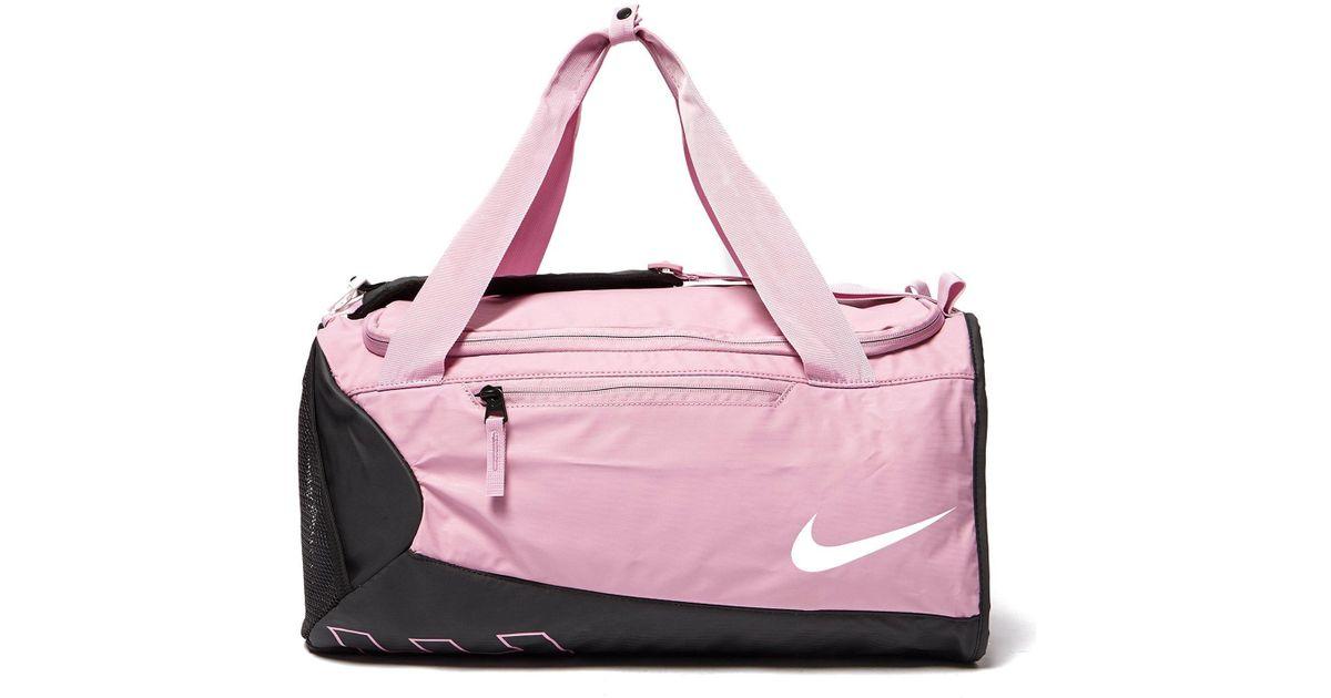 3760d679b2 Lyst - Nike Alpha Duffle Bag in Pink