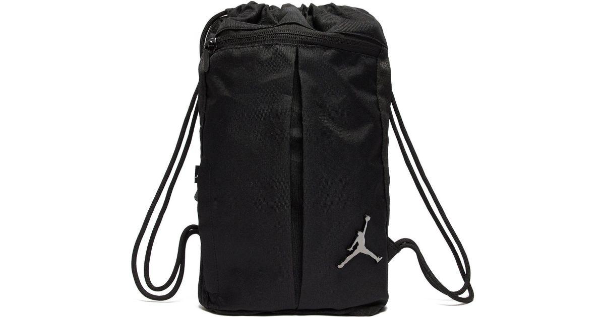 b53795e50a3 Nike Jordan Unconscious Backpack in Black for Men - Lyst