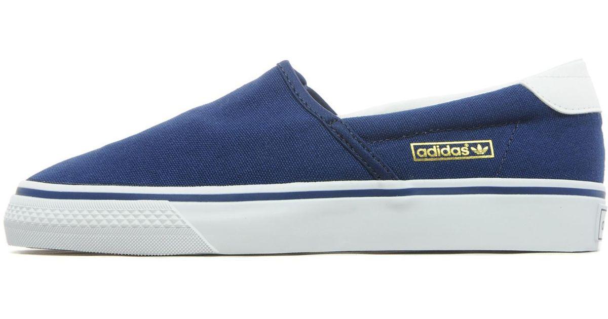 c2293cab8 Lyst - adidas Originals Adidrill Vulc in Blue for Men