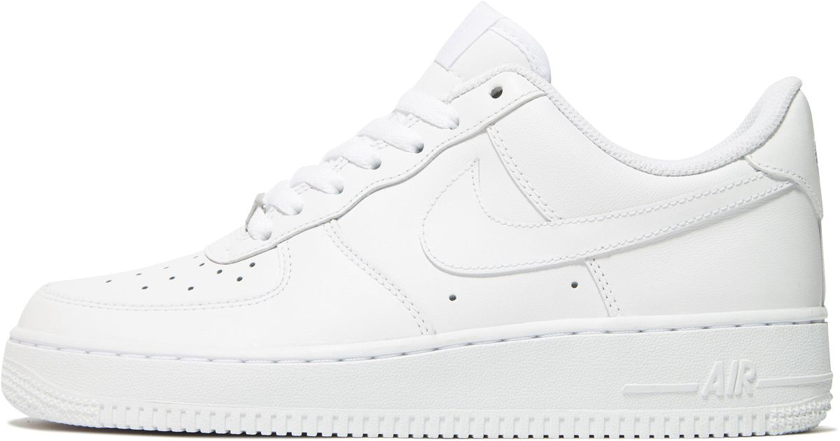 1b591d068a9c Lyst - Nike Air Force 1 Low Womens in White