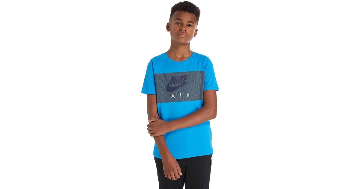762eea58ddcb03 Nike Air Colour Block T-shirt Junior in Blue for Men - Lyst