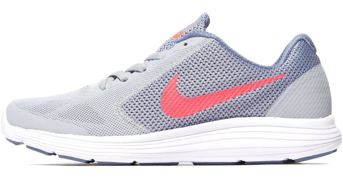 Lyst - Nike Revolution 3 Junior in Gray b01d6caf52e4