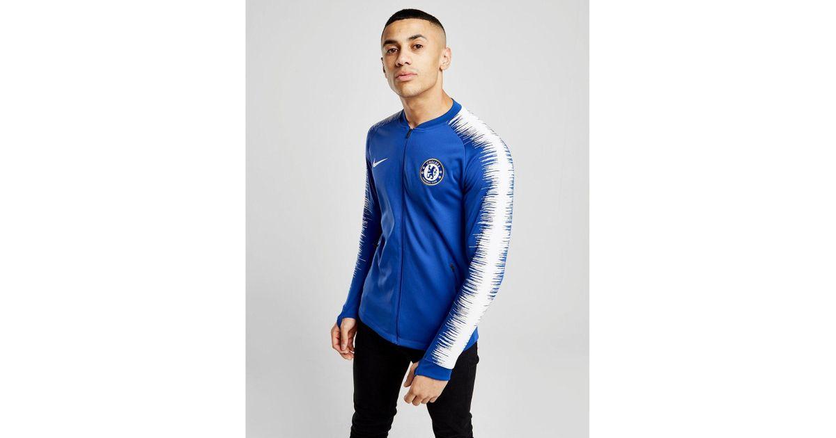 043d43562 Nike Chelsea Fc 2018/19 Anthem Jacket in Blue for Men - Save 43% - Lyst