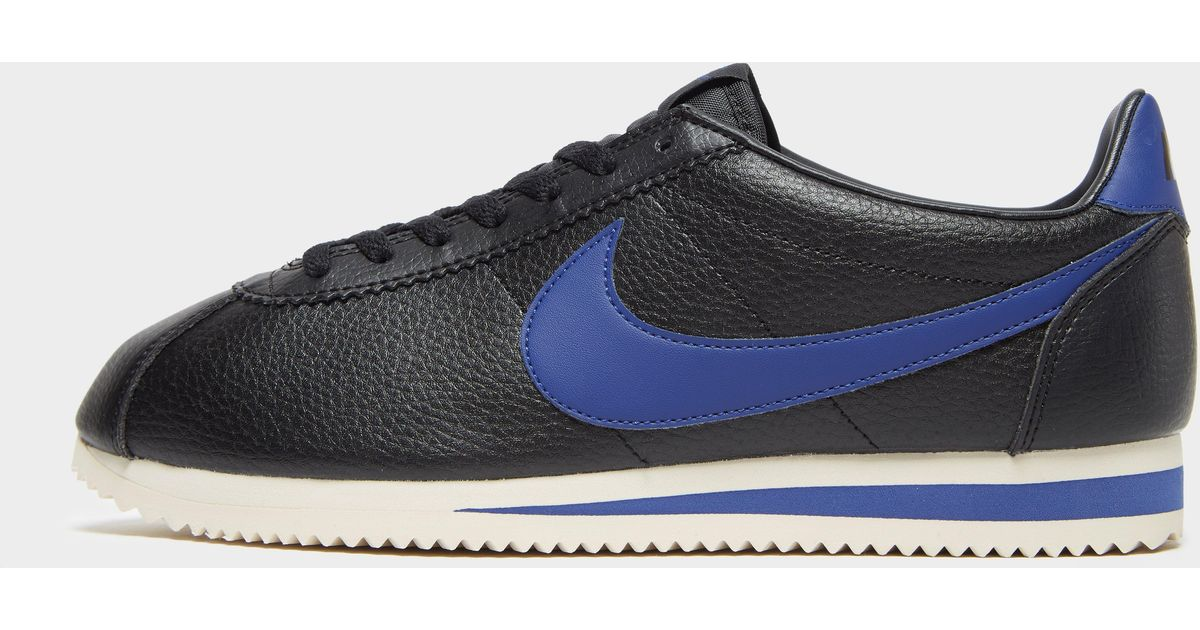 differently 80dbe 427d4 Nike Cortez Se Leather in Blue for Men - Lyst