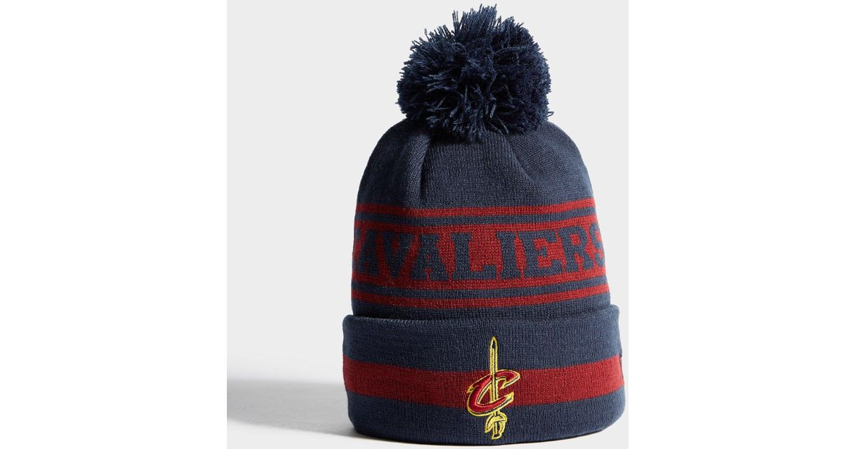 34462ef1f48 Ktz Nba Cleveland Cavaliers Beanie in Blue for Men - Lyst