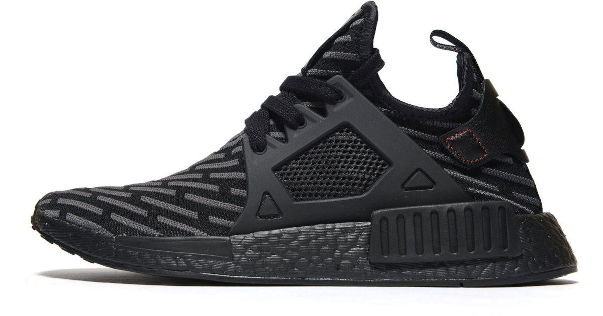 sports shoes 95c1f cf789 Adidas Originals - Black Nmd Xr1 Primeknit for Men - Lyst