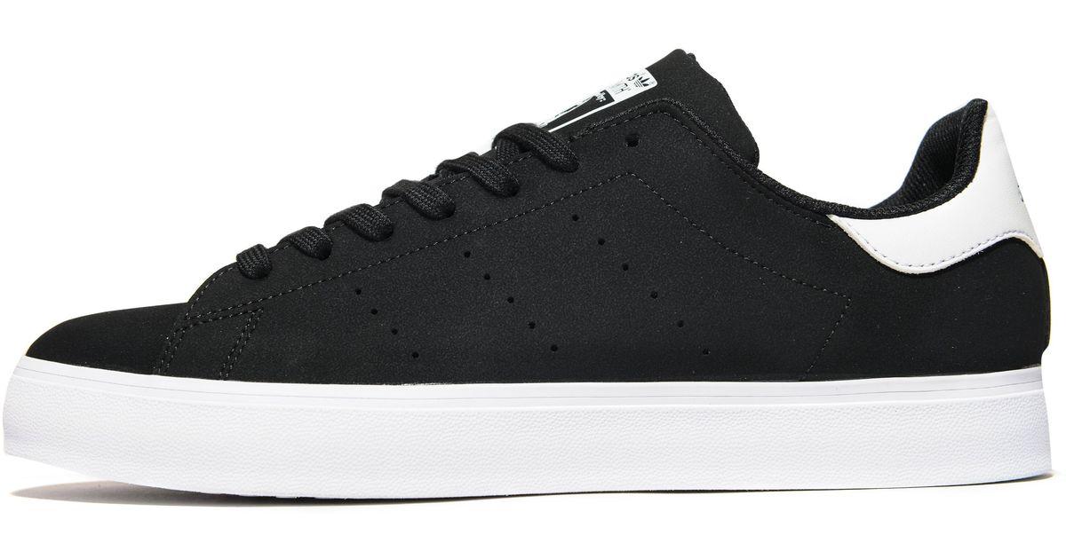 Lyst - adidas Originals Stan Smith Vulc in Black for Men d09f41f8b