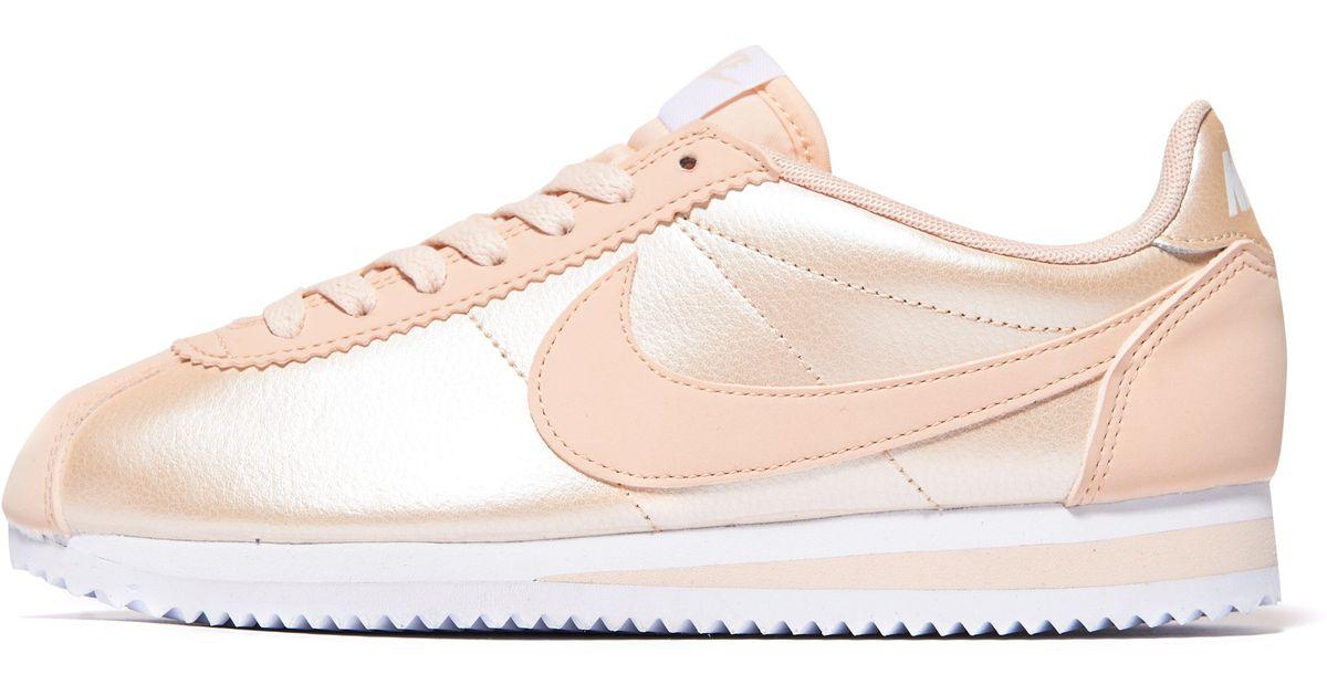 Lyst - Nike Cortez Glitter in Pink 73c2d705b