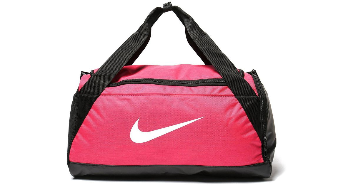 a1e198986093 Lyst - Nike Brasilia Small Duffle Bag in Pink for Men