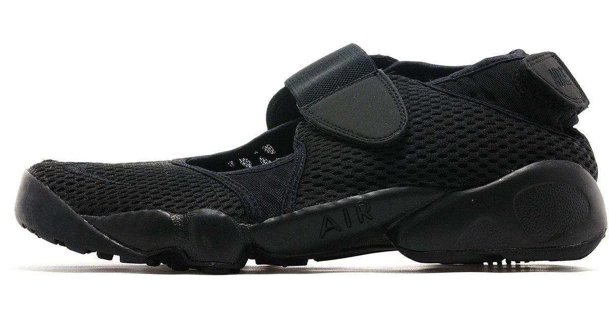online store 50538 5706f Nike Air Rift Breathe Pack in Black for Men - Lyst